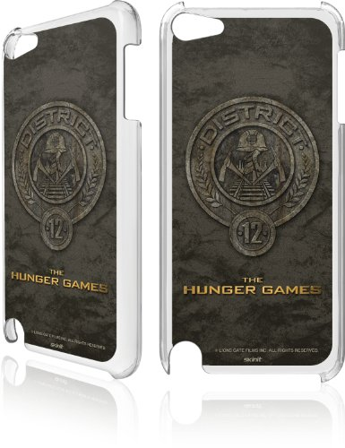 Skinit The Hunger Games -District 12 Stone Logo for LeNu Case for Apple iPod Touch (5th Gen)