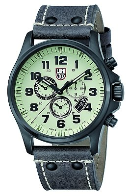 Luminox Men's A.1897 Field Chronograph Alarm Stainless Steel Watch