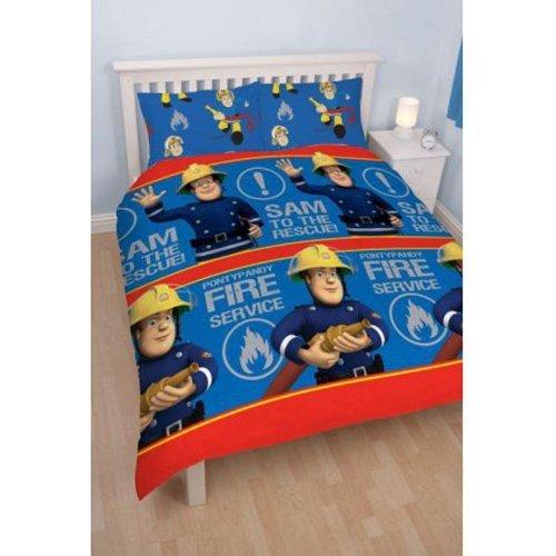 xirope parure de lit housse de couette double 200x200 sam le pompier. Black Bedroom Furniture Sets. Home Design Ideas