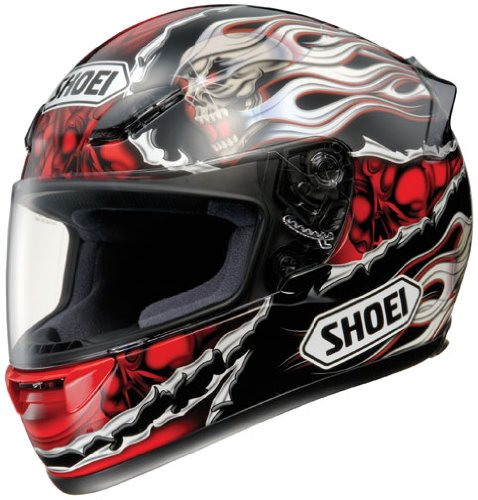 Shoei RF-1000 Sever TC-1 Full Face Motorcycle Helmet Red XXS