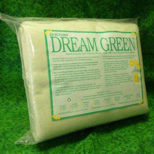 Quilters Dream Green Quilt Batting - Queen