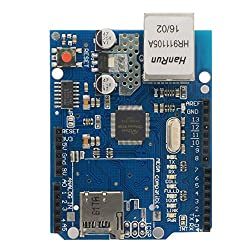 Smraza Ethernet Shield W5100 Expansion Network Module for Arduino UNO Mega2560 1280 ATmega328 168 S09