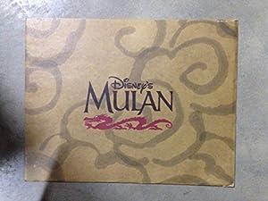 "Walt Disney "" Mulan"" Exclusive Commemorative Lithograph - 8"" x 11"" Print"