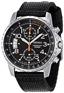 Seiko Men's SNN079P2 Cloth Strap Watch by Seiko