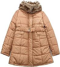 Richie House Little Girls39 Padding Jacket with Fur Collar RH1278