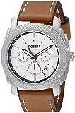 Fossil Men's FS5063 Machine Analog Display Analog Quartz Brown Watch