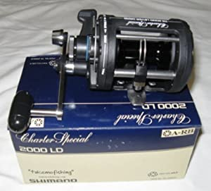 SHIMANO CHARTER SPECIAL LEVER DRAG TROLLING REELS