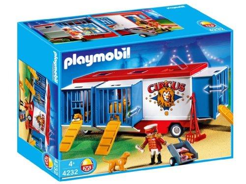Jouet : Playmobil - 4232 - Mr Loyal Avec Remorque