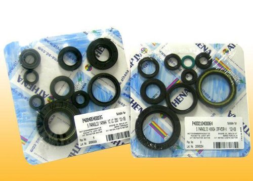 1997 Yamaha WR250 Engine Oil Seals Kit, Manufacturer: Athena, COMPLETE ENGINE OIL SEAL KIT