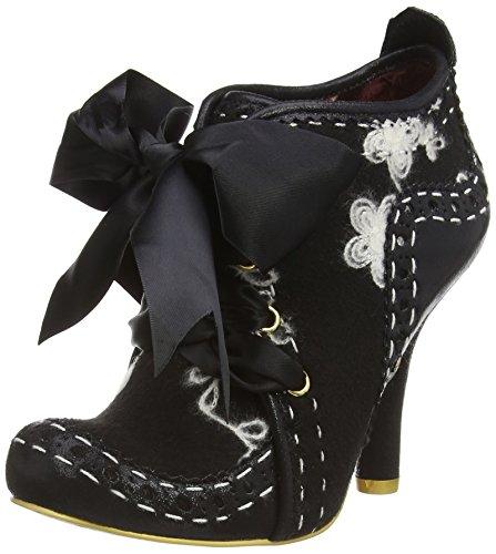 Irregular Choice Abigail'S 3Rd Party, Scarpe con tacco a punta chiusa donna, colore nero (black/white), taglia 37 EU