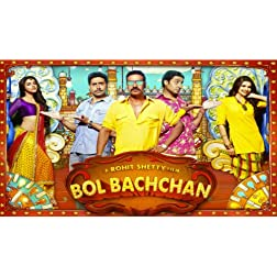 Bol Bachchan (2012) (Hindi Movie / Bollywood Film / Indian Cinema DVD)