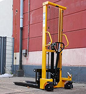 Hochhubwagen Handstapler Hubwagen Gabelstapler 1,6m G