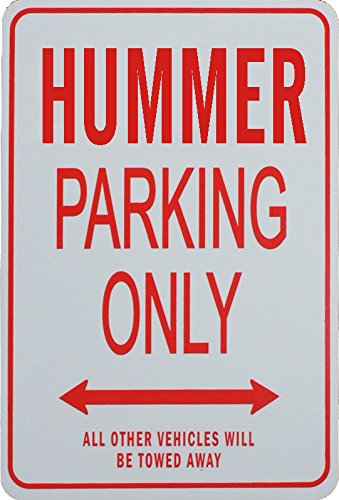 hummer-parking-only-sign