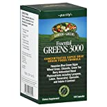 Garden Greens Essential Greens 3000, Purify, Capsules, 120 capsules