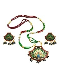 "Aakshi Necklace ""Seassion Of Spreading The Wings"" Necklace Set"