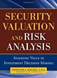 img - for Security Valuation and Risk Analysis: Assessing Value in Investment Decision-Making by Kenneth S. Hackel (2010-11-10) book / textbook / text book