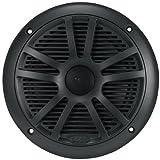 "4) NEW BOSS MR6B 6.5"" 360W Dual Cone Black Marine Audio Speakers 180 Watt 2 PAIR"