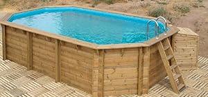 cocoa beach pool aus holz komplett garten. Black Bedroom Furniture Sets. Home Design Ideas