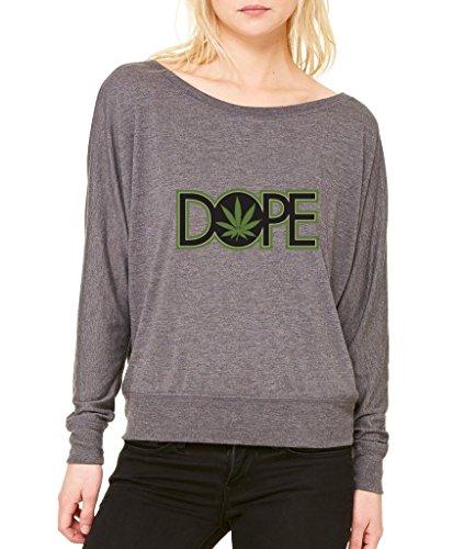 Dope-Pot-Leaf-Long-Sleeve-420-Day-High-Street-Flowy-Shirt-X-Small-Dark-Heather-wr-3