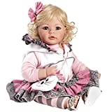 """Adora Toddler The Cat's Meow 20"""" Girl Weighted Doll Gift Set for Children 6+ Huggable Vinyl Cuddly Snuggle Soft Body Toy"""