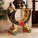 Design Toscano WU71539 Egyptian Wings of Horus Grand Altar Console Table