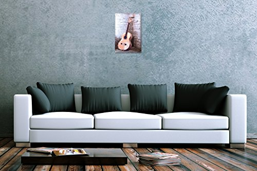plaque maill e d co cin ma peinture guitare publicit signes en m tal 20x30 cm tableau concept. Black Bedroom Furniture Sets. Home Design Ideas