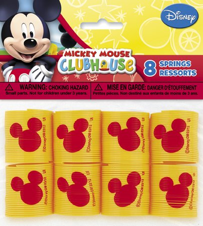 Mickey Mouse Clubhouse Party Favors-8 resortes