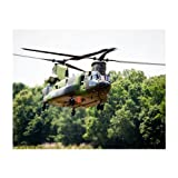 CH-47 Matted Print - Large