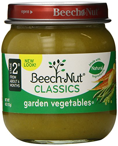 Beech-Nut Classics, Garden Vegetables, 4 Ounce (Pack of 10)