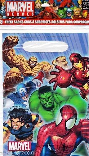 Marvel Heroes Favor Bags (8ct) - 1