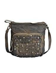 VILENCA HOLLAND 40754 Olivegreen, Leather Bags For Women, Ladies Shoulder Bags, Ladies Work Bags, Ladies Leather...