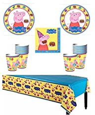 Peppa Pig Deluxe Party Supply Pack fo…