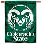 Colorado State University Double Sided House Flag