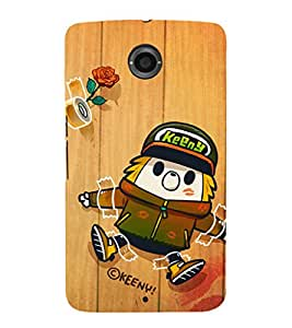 Ebby Premium Printed Mobile Back Case Cover With Full protection For LG Nexus 6 (Designer Case)