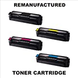 Cartridge Store - CLP 415 SET Remanufactured FULL SET Samsung CLT-K504S, CLT-C504S, CLT-M504S, CLT-Y504S Toner Cartridge Multipack FOR Samsung CLP-415N toner cartridges Samsung CLP-415NW toner cartridges Samsung CLX-4195FN toner cartridges Samsung CLX-41