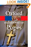 A Dictionary of Popes (Oxford Paperback Reference)