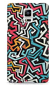 GeekCases Zig zag Back Case for Samsung Note 4