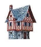 Keranova keranova37913,5? 12,5? 19cm clever papel la ciudad medieval Merchant House 3d Puzzle (21piezas)