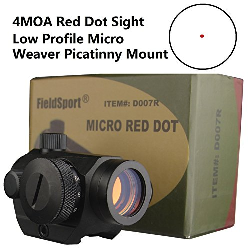 Discover Bargain FieldSport Micro Red Dot Sight, Precision Red Dot Only No Green