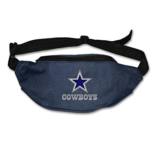 AK79 Unisex-Adult Dallas Star Logo Cowboys Hiking Waist Packs Belt Navy (Wimpy Adult Costume)