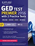 Kaplan GED Test Premier 2016 with 2 P...