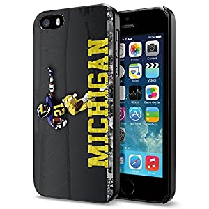 Michigan NCAA, Cool iPhone 5 5s Case Cover