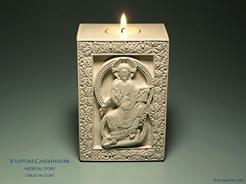 christ-in-glory-medieval-sculpture-candle-holder-kit-orthodox-icon