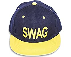 Yellow Swag Hip Hop Snapback Cap