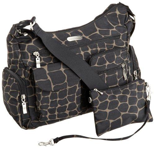 Best Buy Baggallini Luggage Everywhere Classic Hobo Style Bag Giraffe One Size
