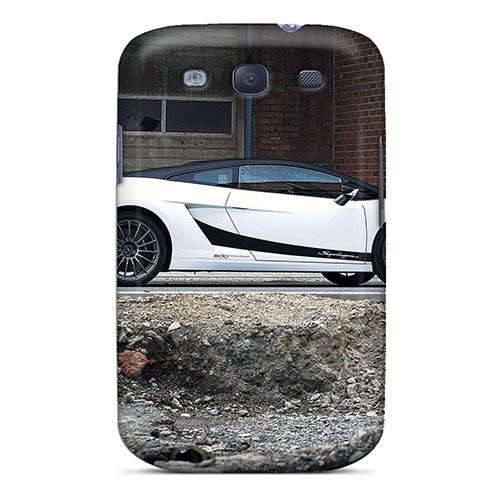 Hot Tpu Cover Case For Galaxy/ S3 Case Cover Skin - Edo Competition Lamborghini Gallardo Superleggera back-740436