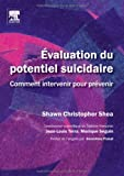img - for Evaluation du potentiel suicidaire (French Edition) book / textbook / text book