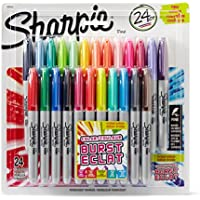 24-Pack Sharpie Color Burst Fine Point Permanent Markers (Assorted Colors)