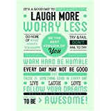 Printelligent Inspirational, Motivational Poster. Best Poster For Room, Poster For Office, Poster For Home. Wall...