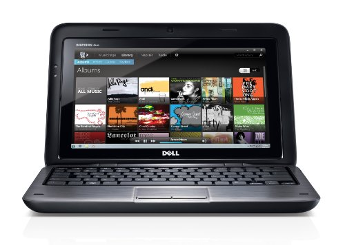 Dell Inspiron DUO iD-4495FNT Laptop with Docking Station (Foggy Night)